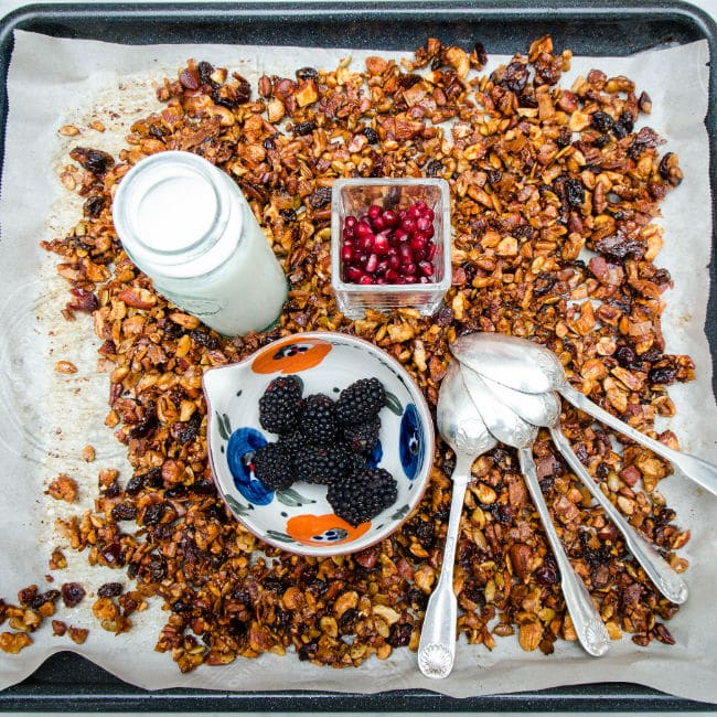 Nutty-Coconut-Granola