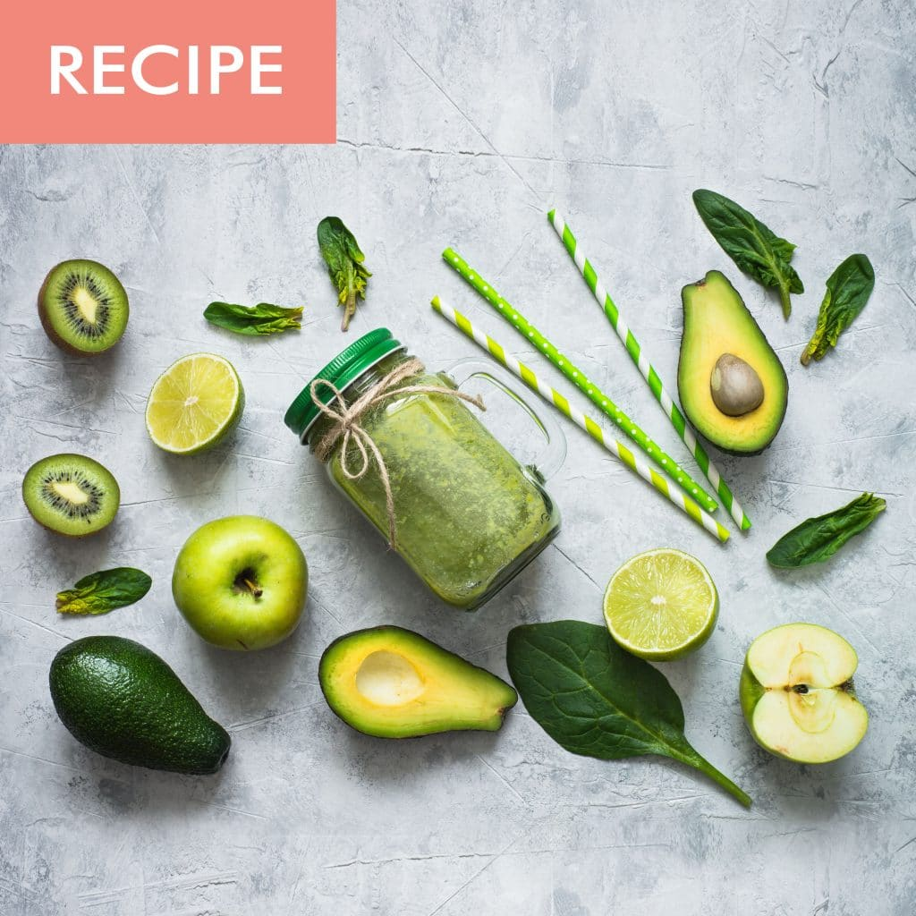 Recipe_Avocado Kiwi Smoothie