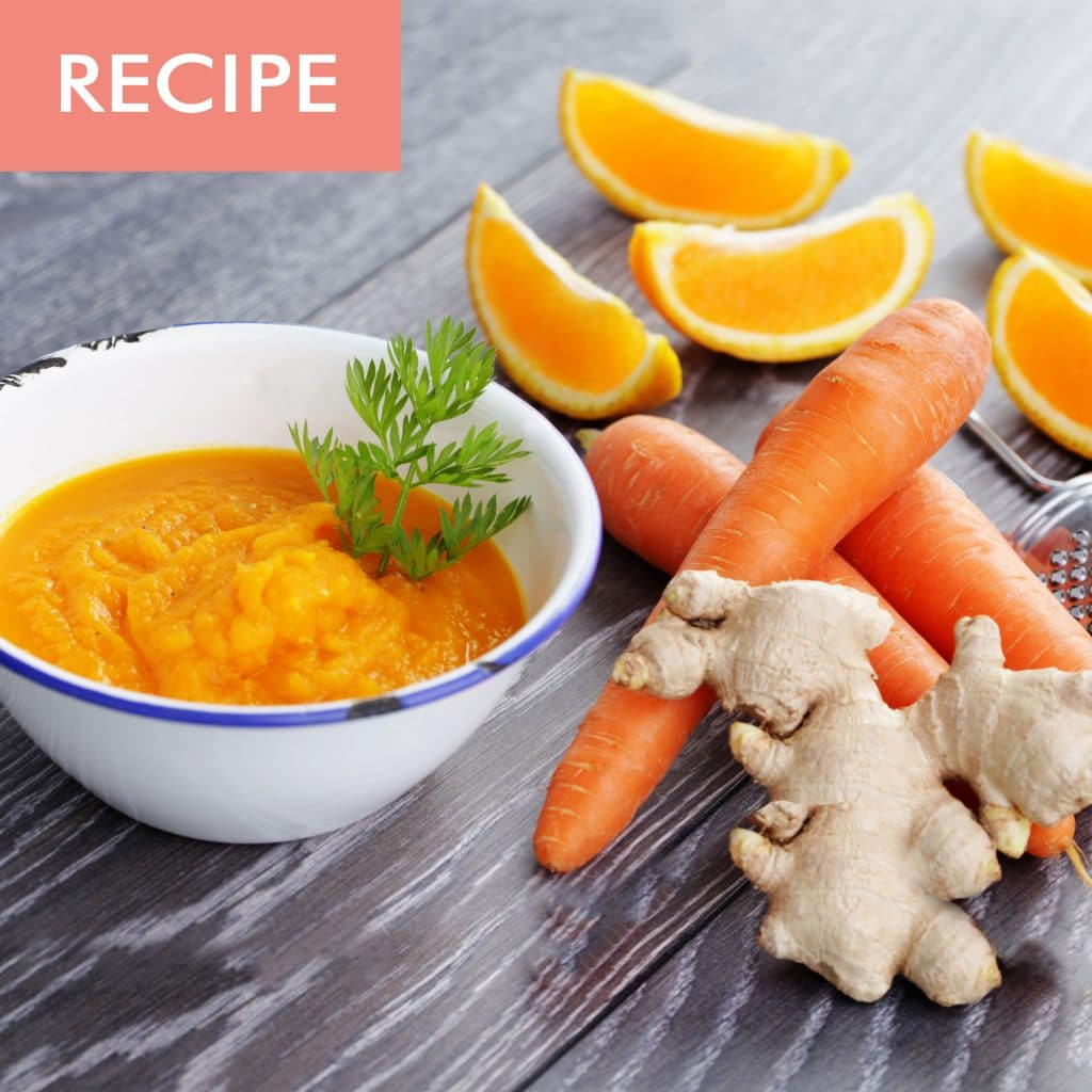 CARROT ORANGE & GINGER SOUP - Delphine Remy | Holistic ...