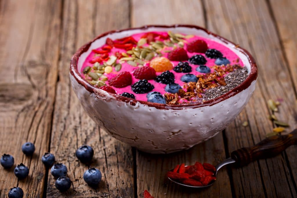 Pretty in Pink Smoothie Bowl
