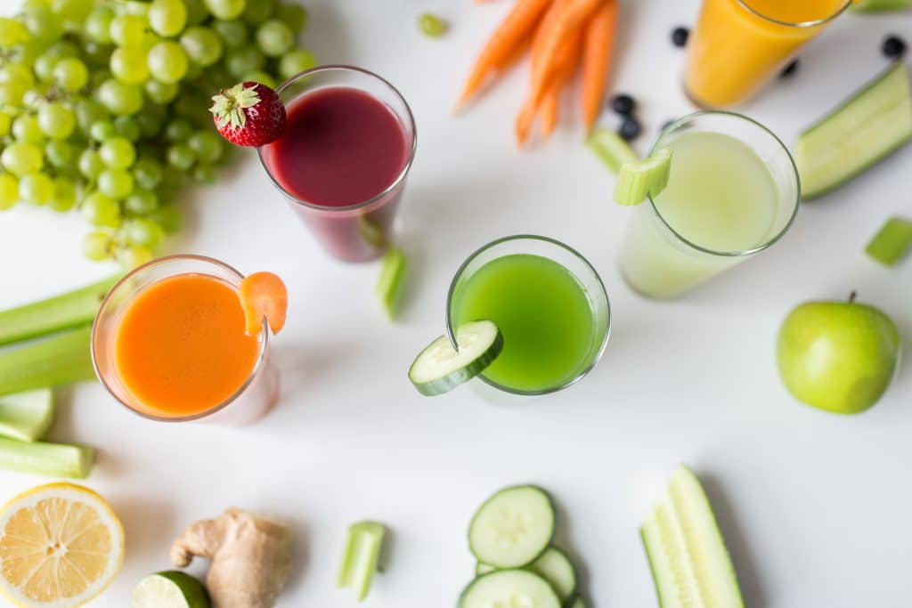 Juice to stay hydrated!