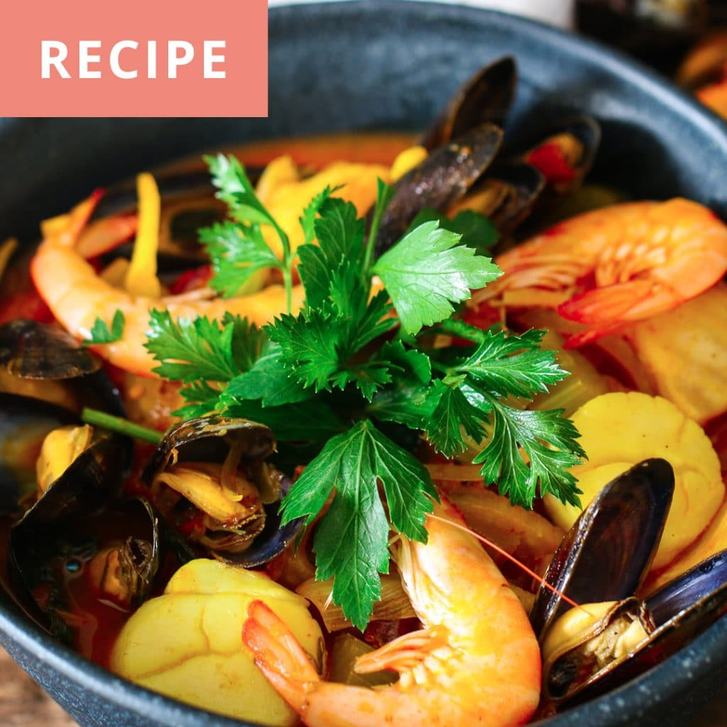 seafood and fennel soup