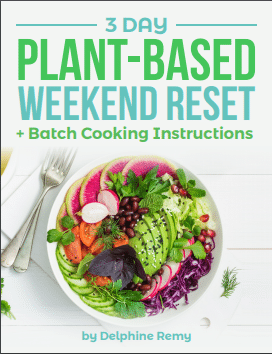 3 Day Plant-Based Weekend Reset Ebook