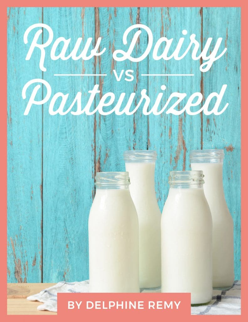 Difference Between Raw Dairy and Pasteurized